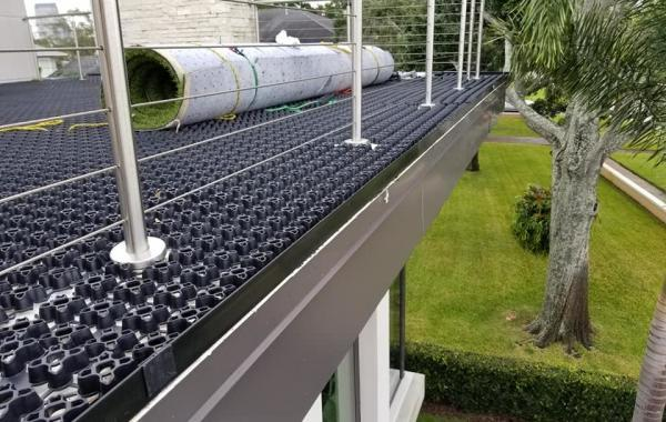 Rooftop Turf AirDrain System