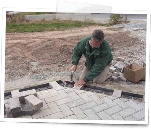 how to install paver edging 3
