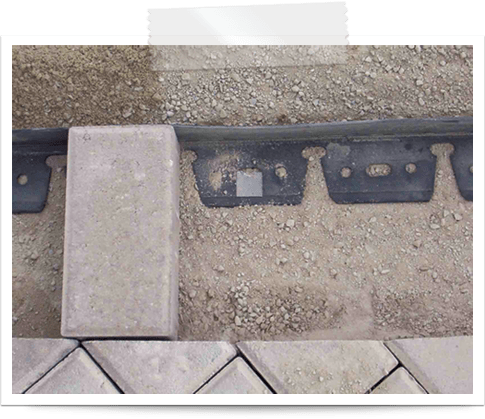 how to install paver edgings 4