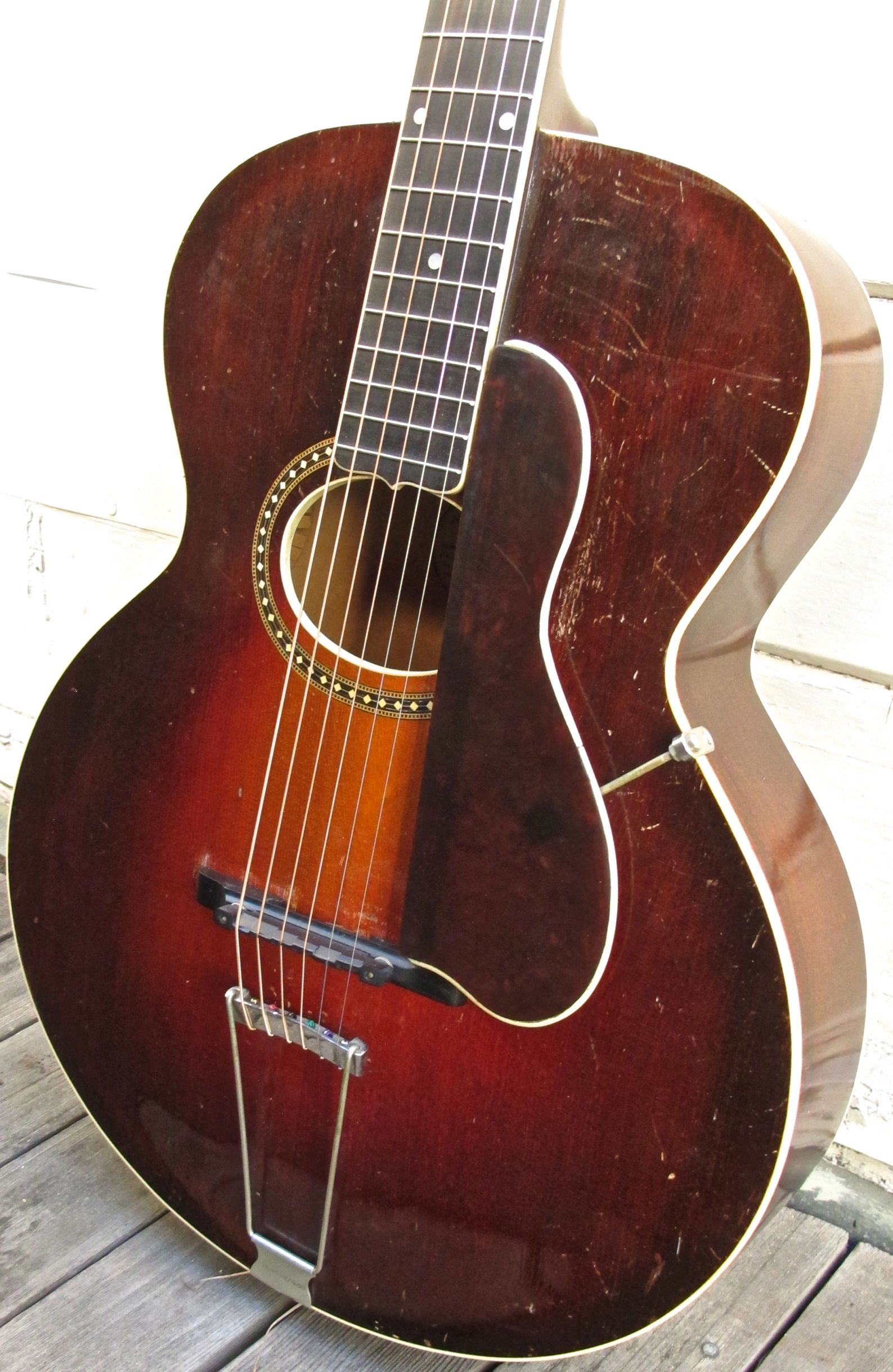 Gibson L4 Archtop Acoustic Guitar Vintage 1926  om28com