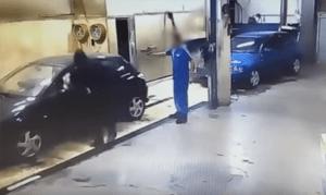 dono, oficina, lavar, carros