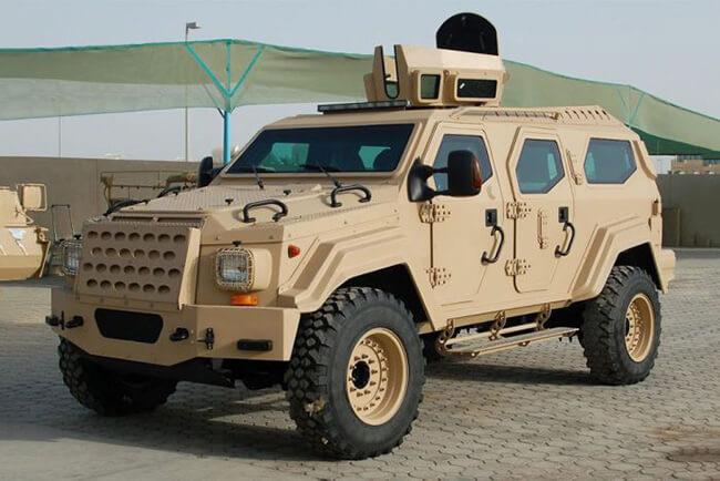 carros operacionais, blindados
