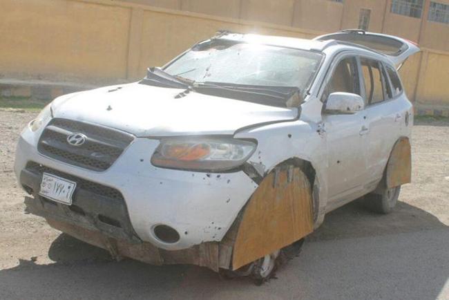 Hyundai Santa Fe, carro-bomba