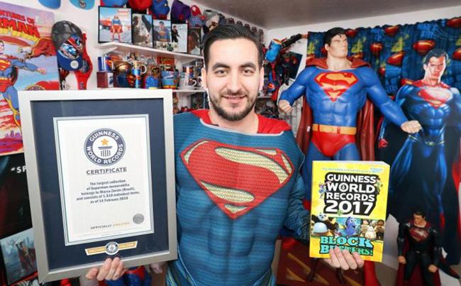 Marco Superman Zorzin, Guinness