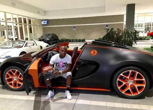 Floyd Mayweather, Bugatti Veyron, Ebay