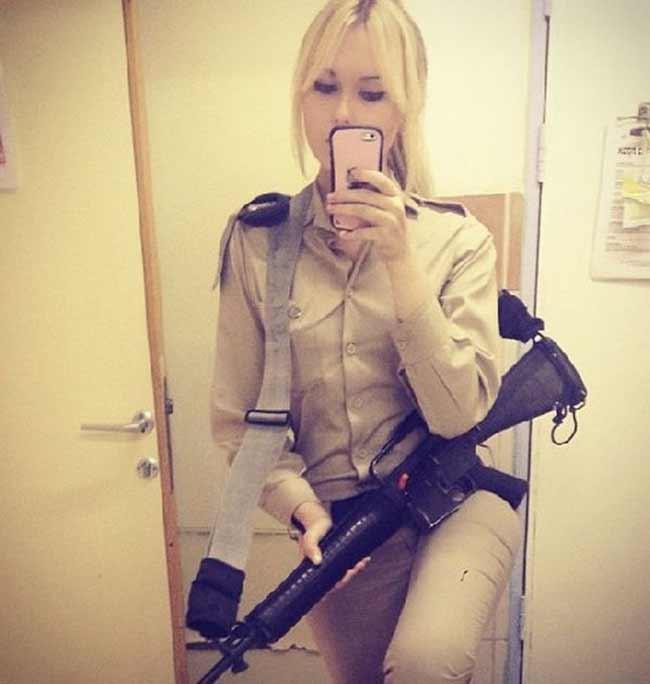 exército feminino de Israel