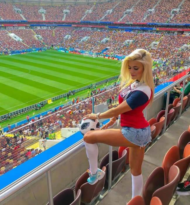 gatas da Copa do Mundo 2018