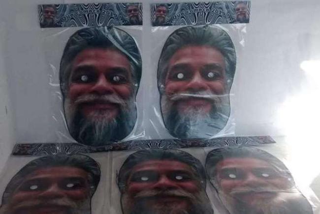 Máscara de Fábio Assunção