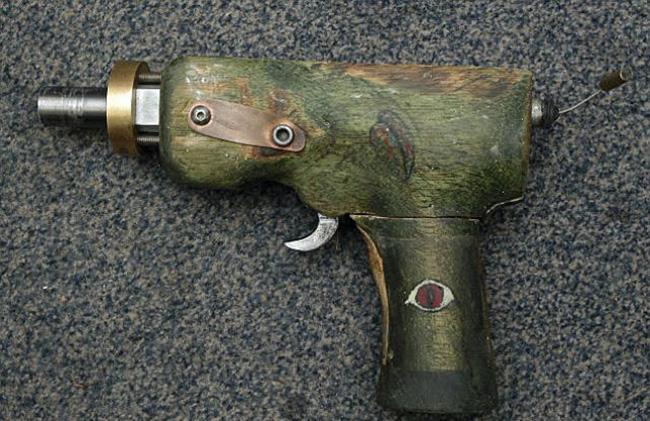 armas de fogo caseiras