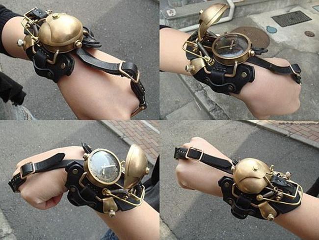 relógios steampunk