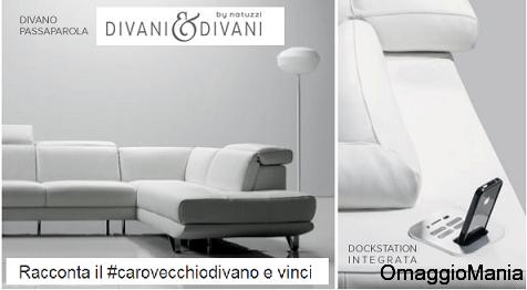 Concorso a premi Divani  Divani by Natuzzi vinci