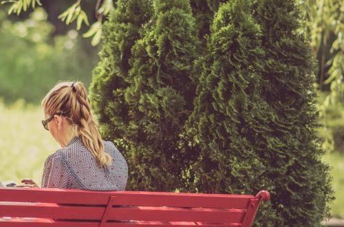 Meditating in public