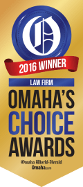 Omaha's Choice 2016 winner logo (Law Firm)