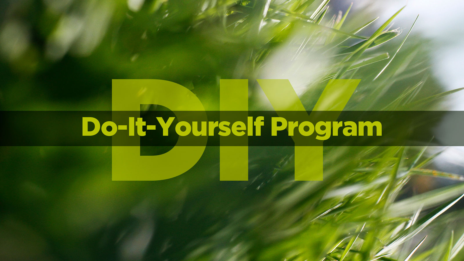 Do It Yourself Program  Omaha Organics DIY Lawn Fertilizer Programs