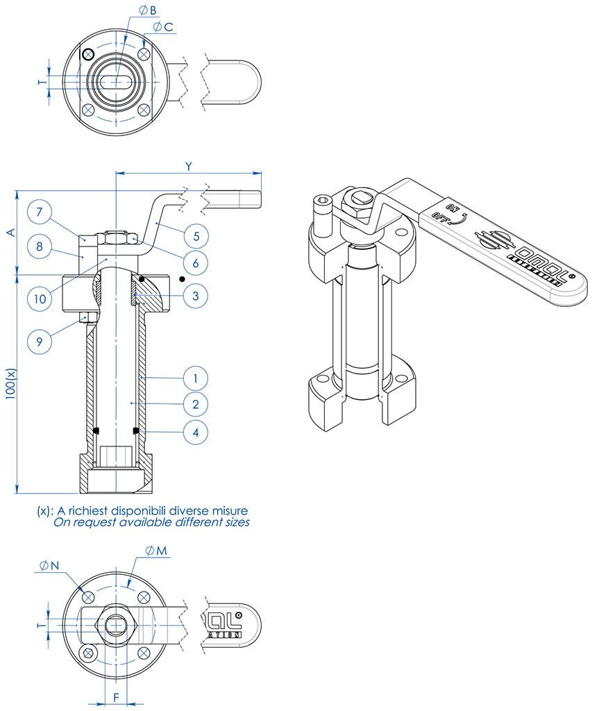 medium resolution of thor split body ansi 900 1500 stainless steel ball valve accessories welded stem