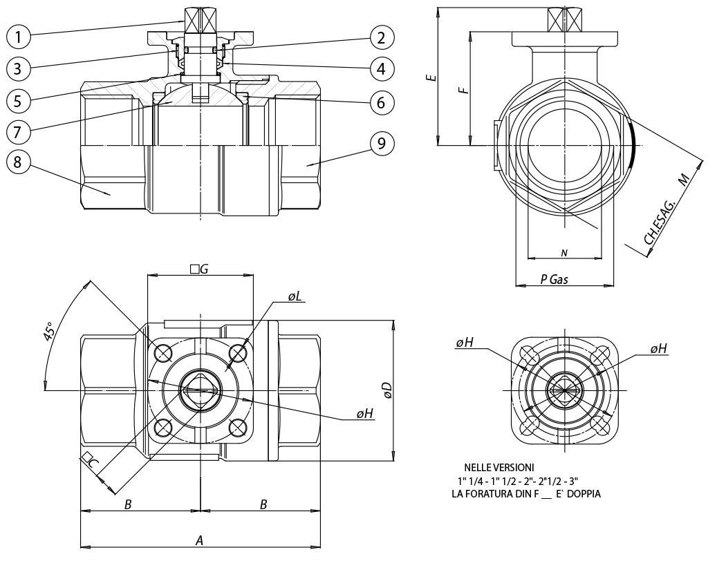 hight resolution of item 101 brass ball valve materials