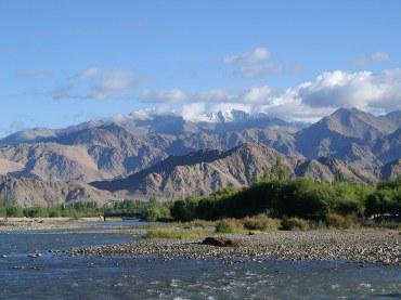 The Himalayas a sacred land