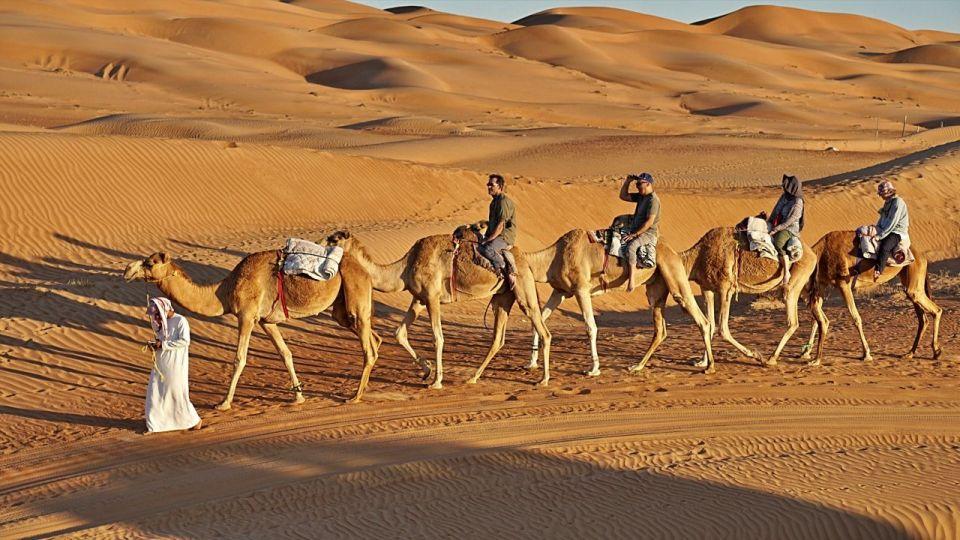 camel ride wahiba