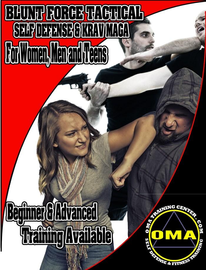 Roanoke Self defense and krav maga training