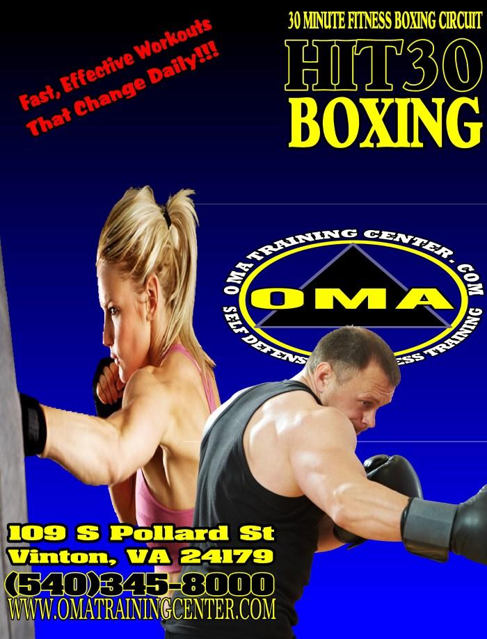Fitness Boxing, Roanoke, Bonsack, Vinton