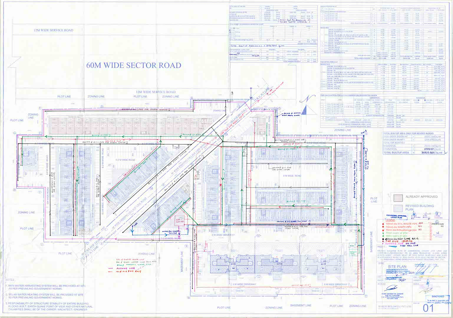 hight resolution of  site plan robust 2016