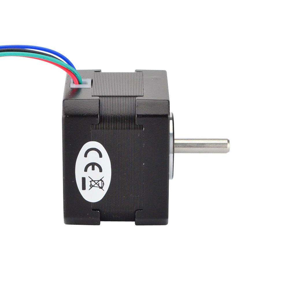 medium resolution of  4 wire nema 17 bipolar 1 8deg 26ncm 36 8oz in 0 4a 12v 42x42x34mm how to wire your stepper ebldc com wire stepper motor wiring diagram
