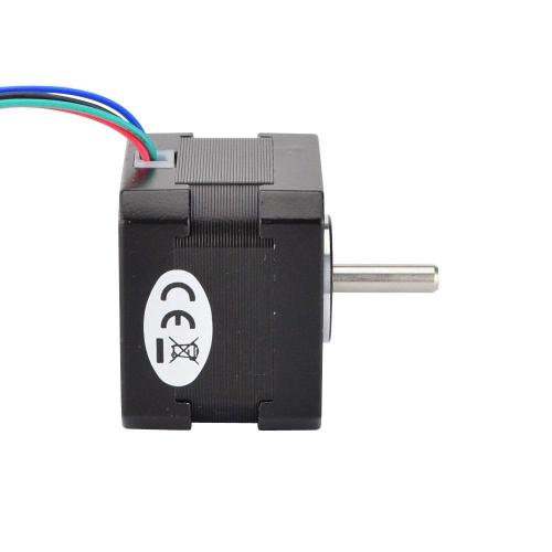 small resolution of  4 wire nema 17 bipolar 1 8deg 26ncm 36 8oz in 0 4a 12v 42x42x34mm how to wire your stepper ebldc com wire stepper motor wiring diagram
