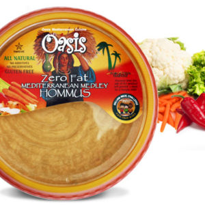 Hommus Zero Fat Oasis Mediterranean Cuisine