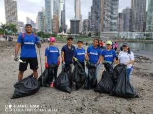 "Beach cleanup – ""Cinta Costera"", Panama 2019 - OMC Group"