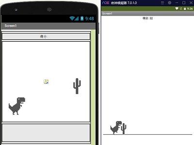 Read more about the article App Inventor學習記錄101-chrome小恐龍遊戲,精簡版