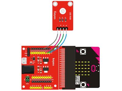 Read more about the article Micro:bit學習記錄 006- RGB LED燈試作