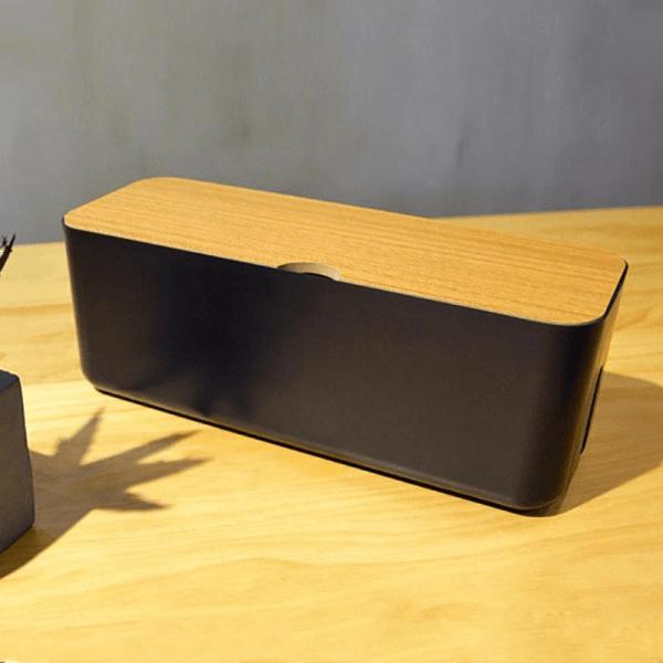 boite de rangement de cables est multiprise pour bureau et décoration intérieur