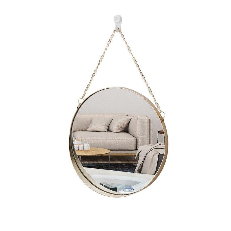 miroir de décoration murale pour intérieur scandinave et industrielle détails fond blanc