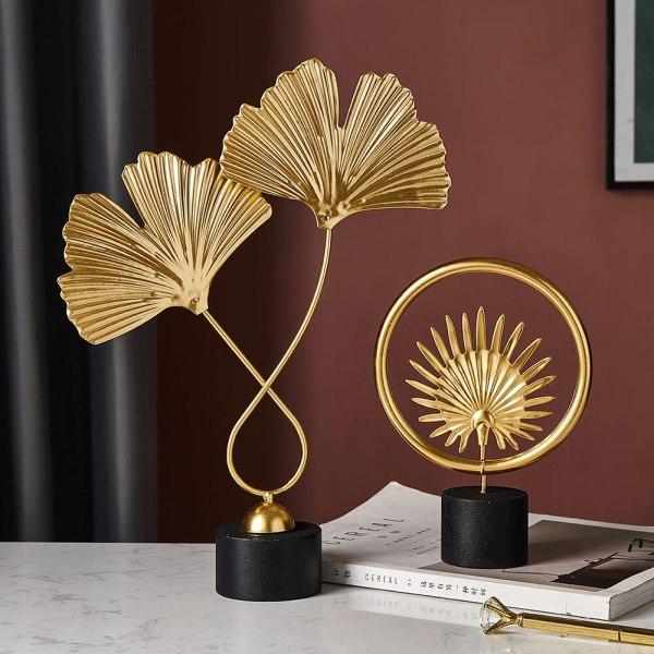 Sculpture d'ornement dorée pour éblouir votre décoration