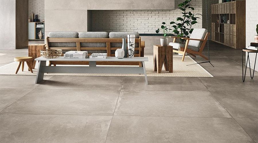 les sols style décoration industrielle