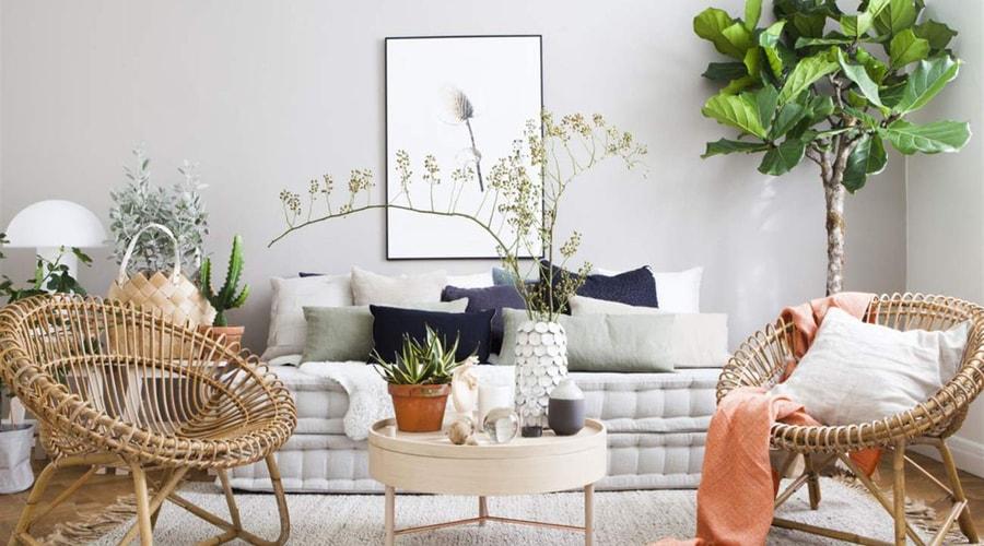 décoration intérieure de style naturelle