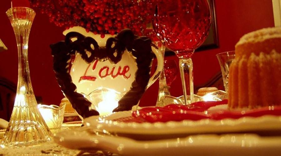 éclairage décoration saint Valentin