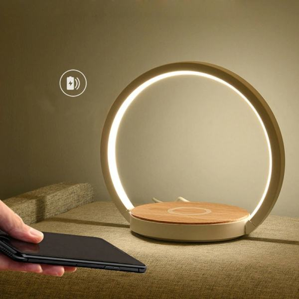 lampe de salon chargeur induction