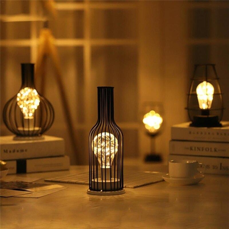 lampe décorative métal décoration