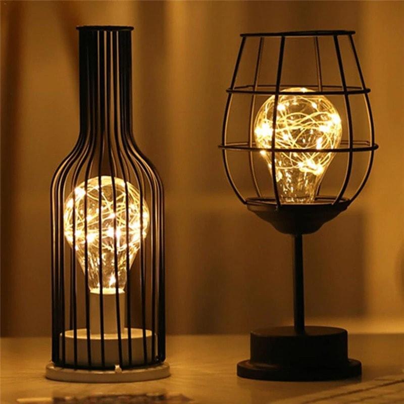 lape décorative fer forgé luminaire intérieur
