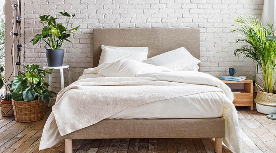 linge de lit intérieur relaxant