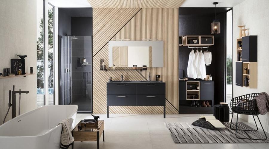 maison relaxante décoration salle de bain
