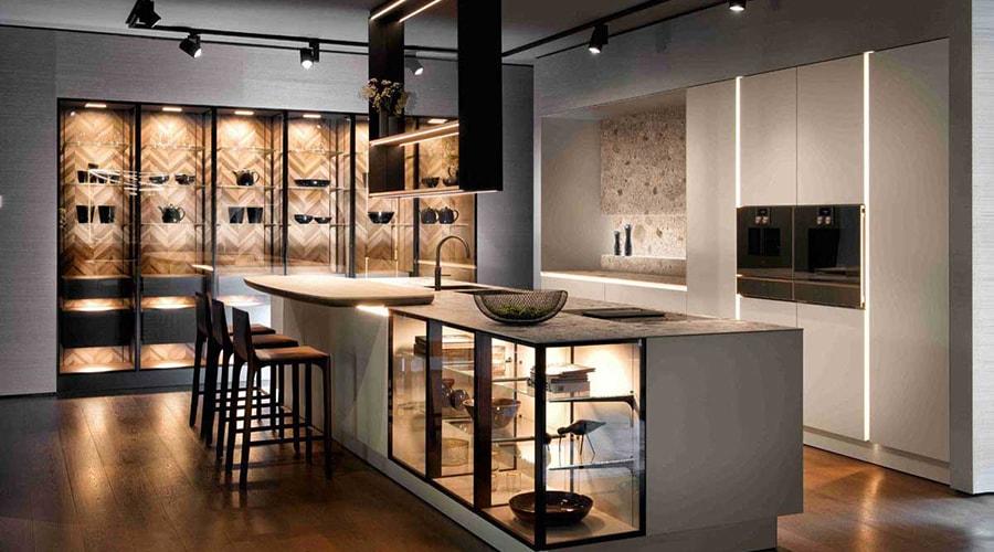éclairage décoration cuisine design
