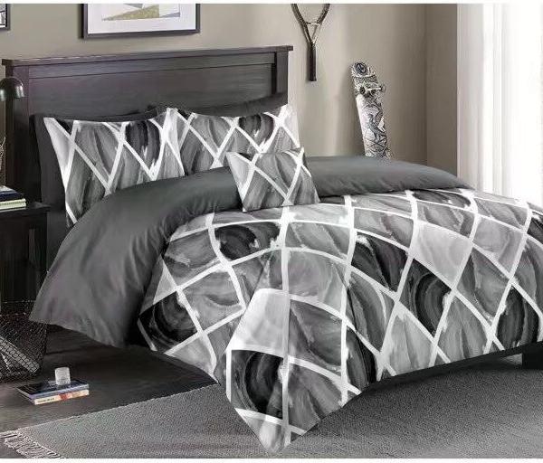 parure de lit dégradé couleur gris