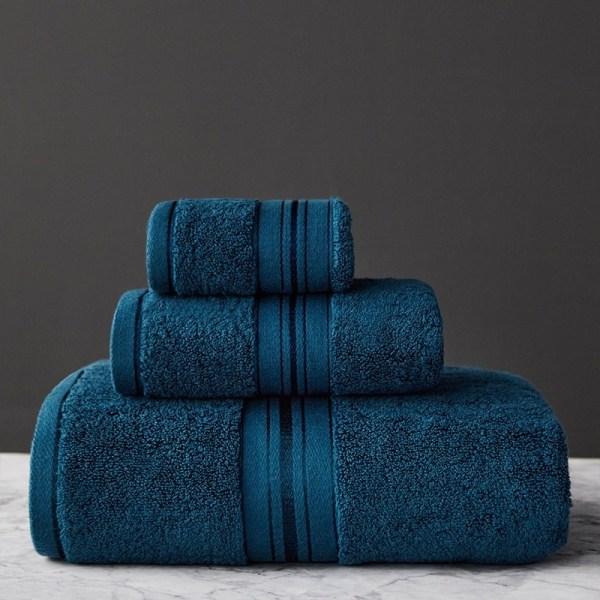 ensemble de serviettes douces décoration