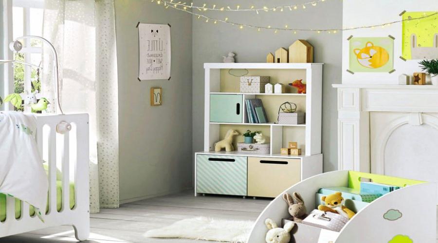 rangement chambre bébé séparateur tiroir