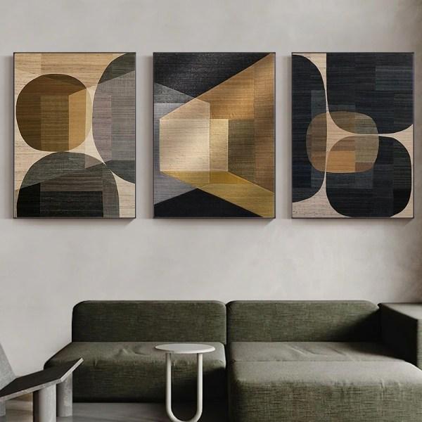toile imprimée moderne décoration intérieur