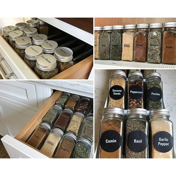 pot à épice organisation cuisine décoration intérieur