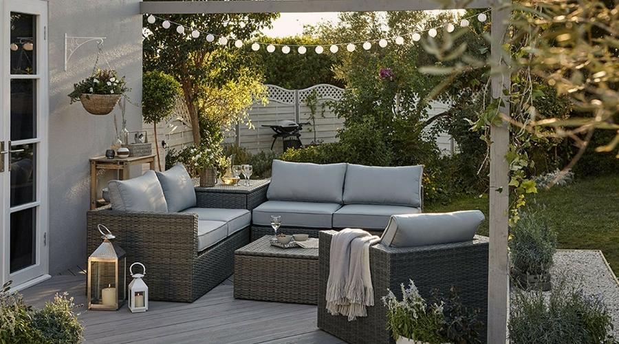 aménager son jardin en plusieurs espaces décoration extérieur