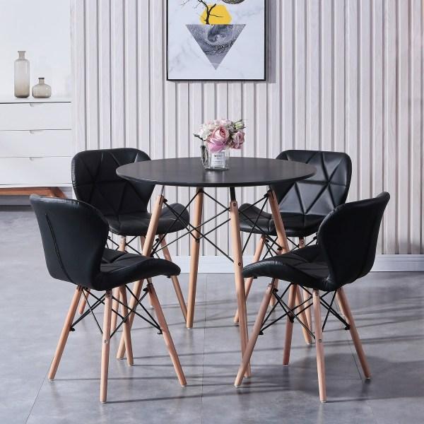 table a manger ronde scandinave déco intérieur